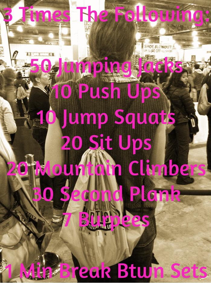 fitness friday workout 1