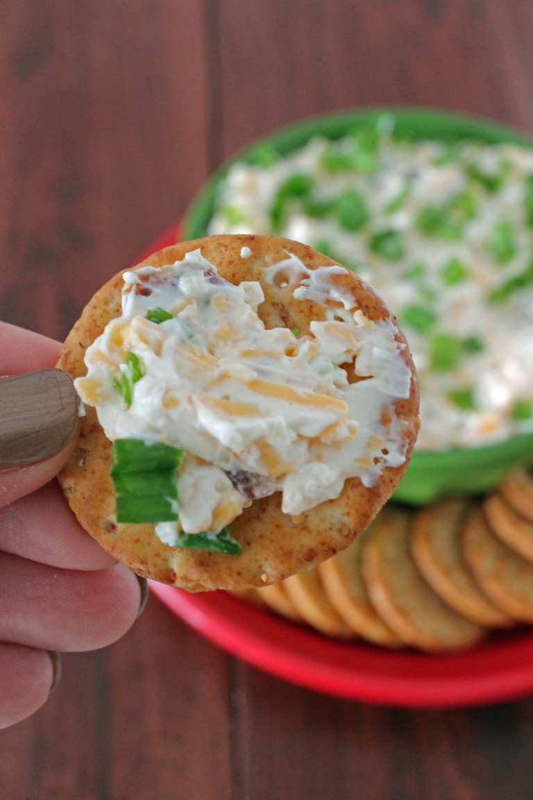 Bacon Cheddar Chive Dip 4