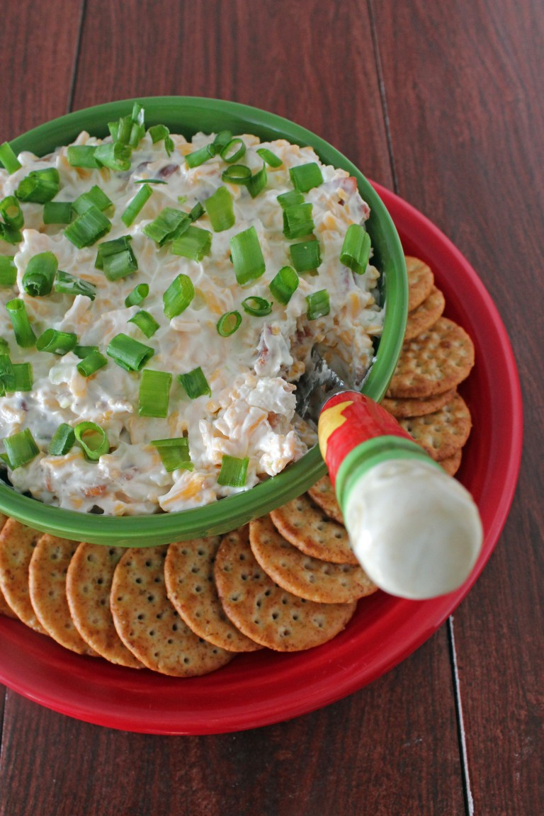 Bacon Cheddar Chive Dip 5