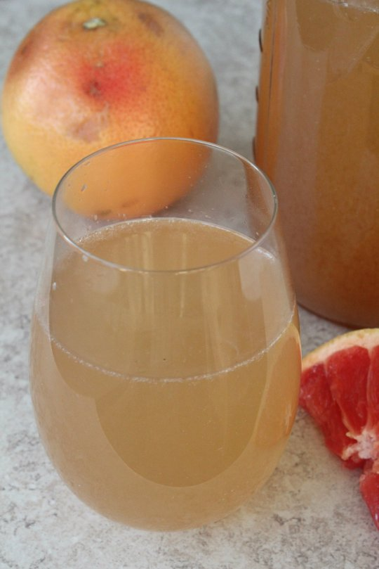 Ginger Grapefruit Cocktail 1