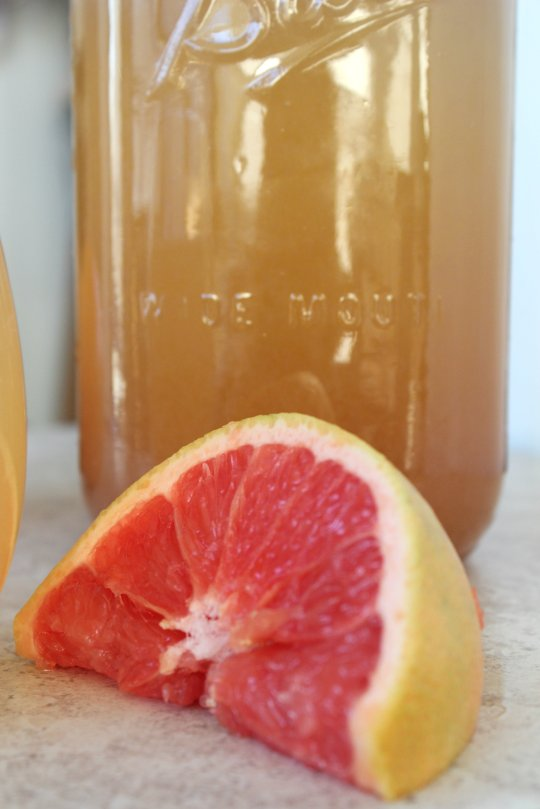 Ginger Grapefruit Cocktail 2