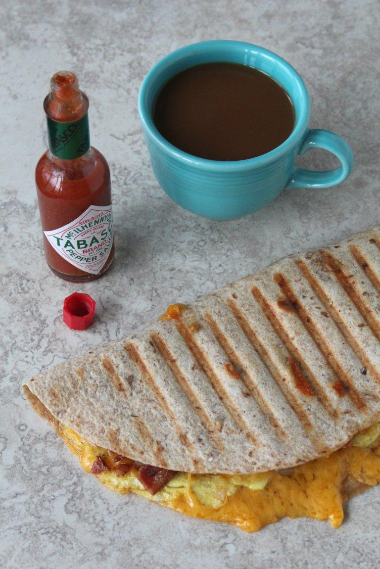 Breakfast Quesadilla 1