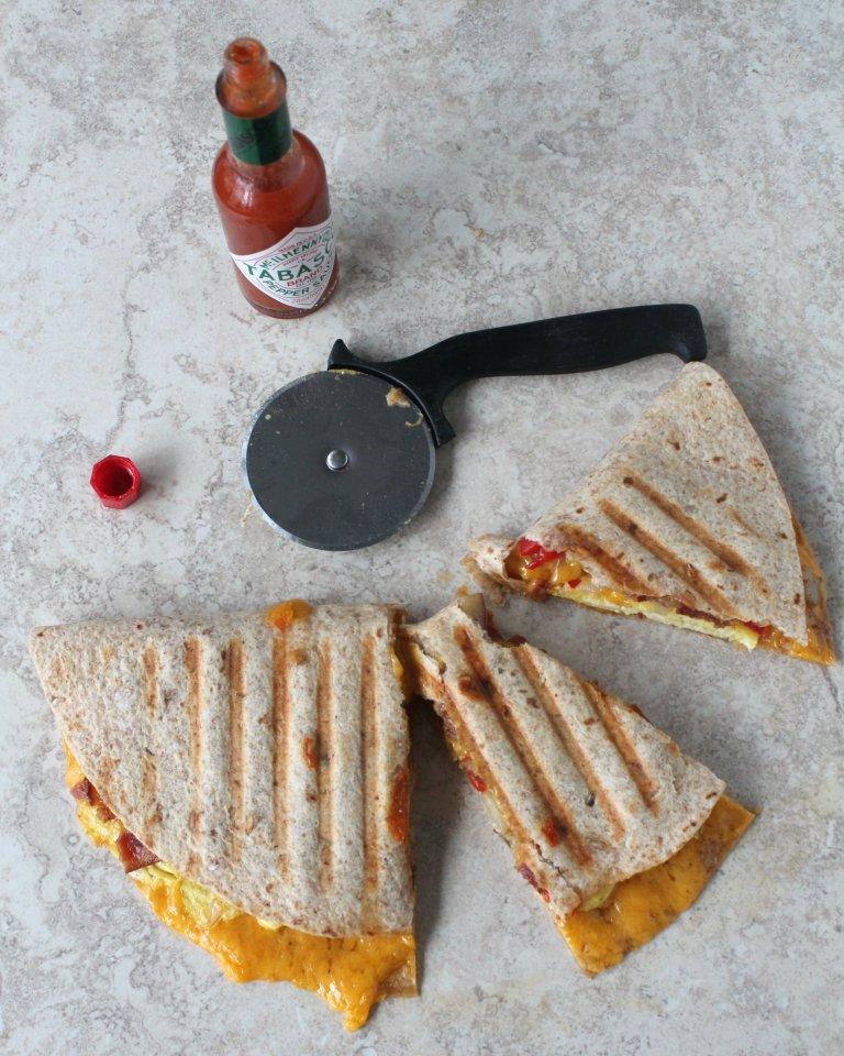 Breakfast Quesadilla 3