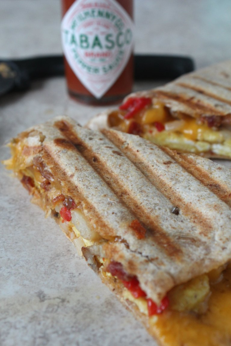 Breakfast Quesadilla 4