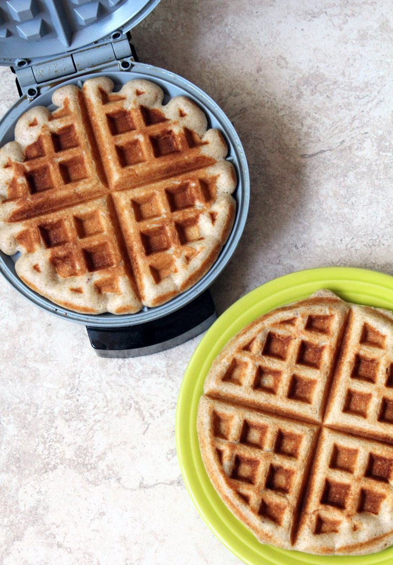 buttermillk waffles for 2