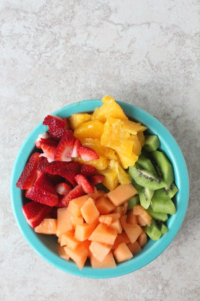 creamy fruit salad 1